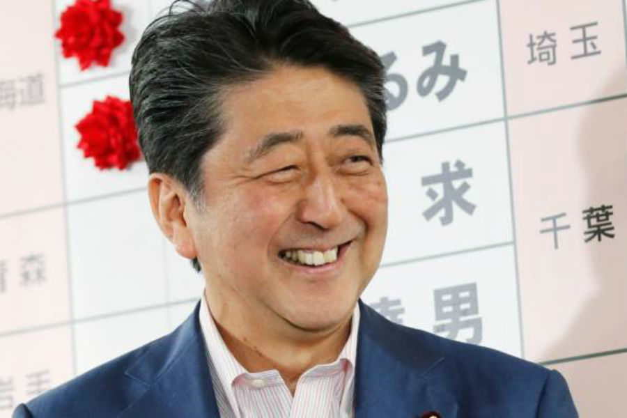 Abe confirmed he will push forward with the casino resorts