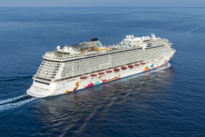 The Genting Dream vessel