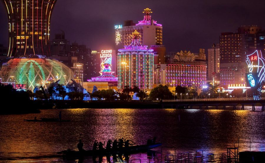 Macau GGR severely impacted by crisis.