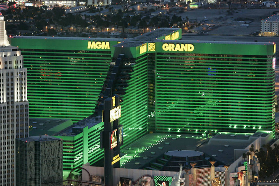 The US casino operator sold the MGM Grand hotel in $2.5 billion