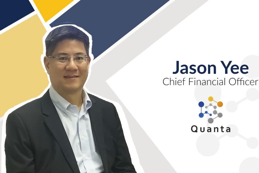 Jason Yee named as Quanta CFO