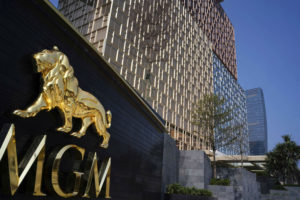 MGM China revenues down 63% in 1Q20