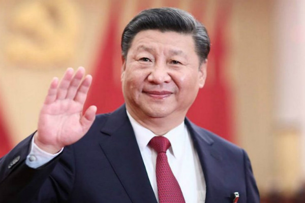 Xi Jinping visits frontline Coronavirus hospital