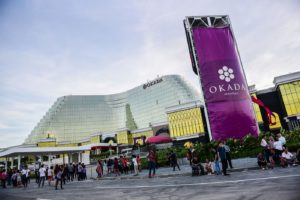Fitch Ratings expects major revenue drops for Okada Manila throughout the year.