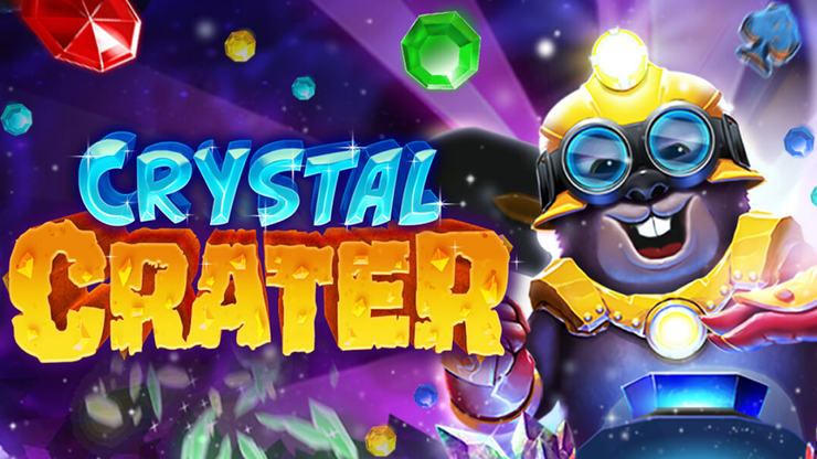 This latest addition to Radi8's portfolio of 10, Crystal Crater, will be available on major operators from 25 March.