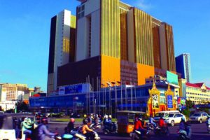 Nagacorp casino in Cambodia.