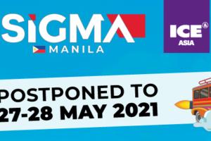SiGMA Manila postponed to May 2021