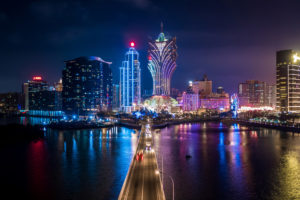 Macau tourism feels the impact of the pandemic.