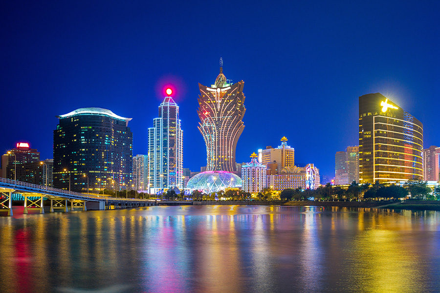 Investors are favouring companies with exposure in Macau.