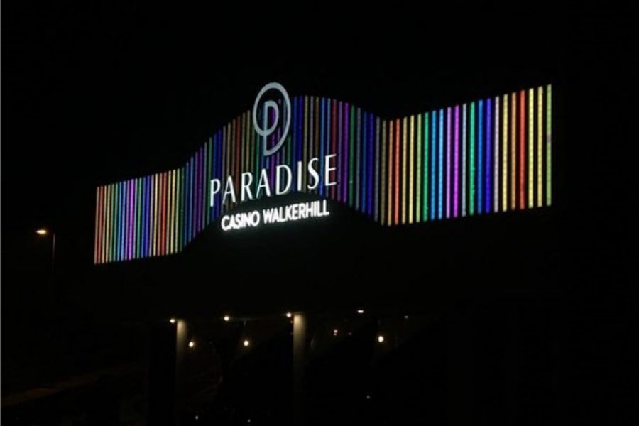 Paradise Co. sales droped 51% in May.
