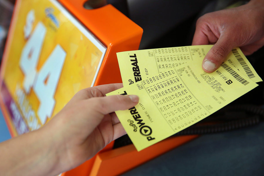 Sales last year were boosted by a record jackpot, the operator has noted.