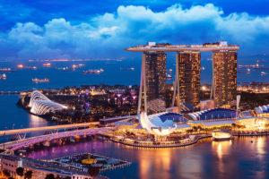 Singapore has two integrated resorts, Marina Bay Sands and Resorts World Sentosa.