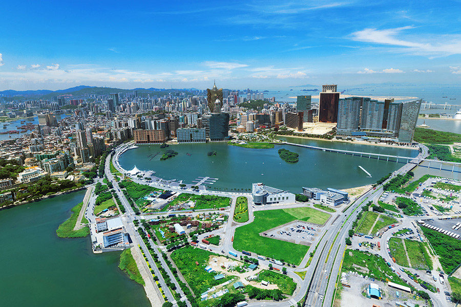 Greater China accounts for more than 90% of Macau's tourists.