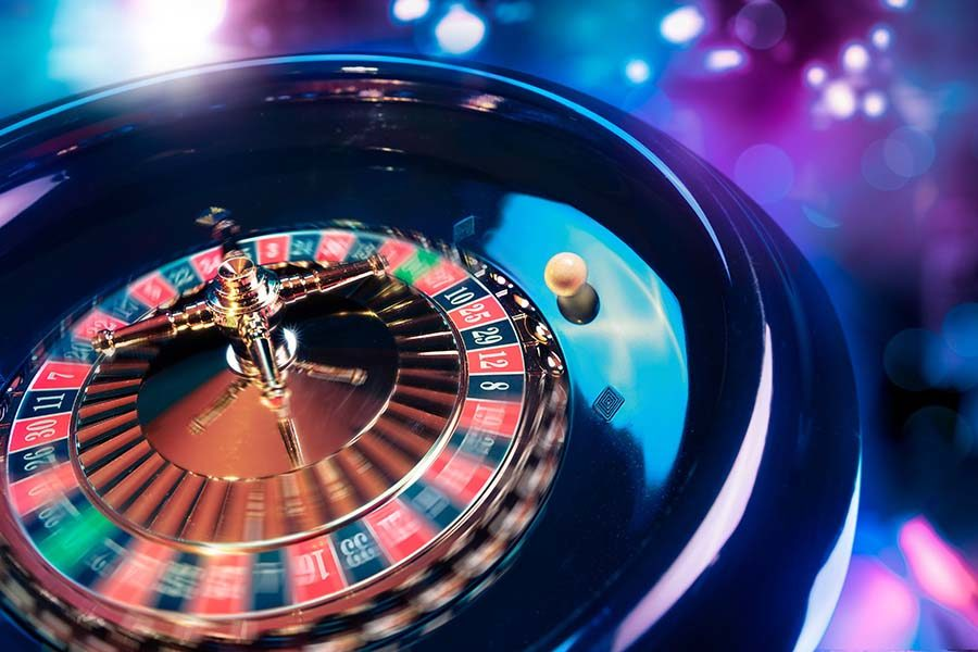 Casino revenues were 56.3 per cent lower than last year.
