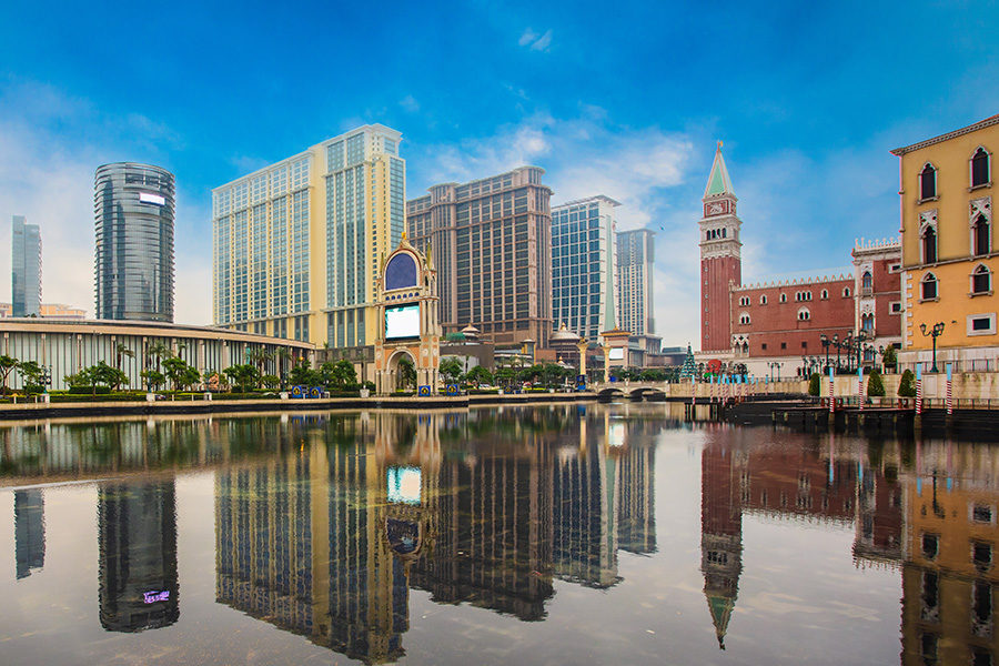 Macau received 14,600 visitors on September 3, up from 5,000 daily in early August.