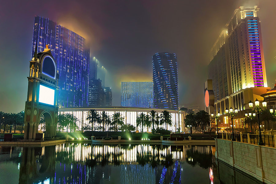 Macau's CE avoided commenting directly on China's proposed legal amendments.