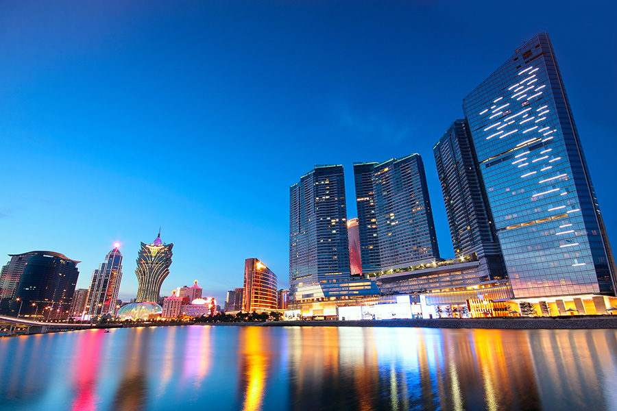 Macau's economy has been heavily impacted by the lack of tourism.