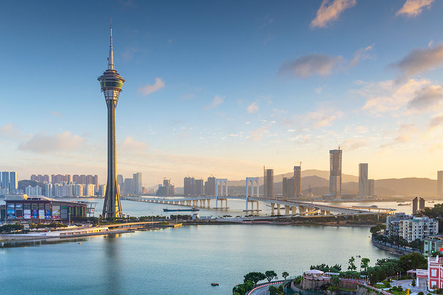 In 2019, about 110,000 people a day entered Macau.
