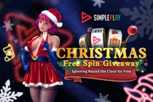 SimplePlay's Christmas free spin giveaway will start on December 21.