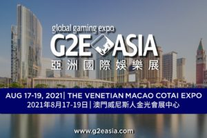 G2E Asia to be held in August