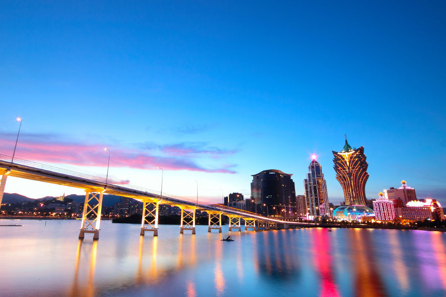 Guangdong residents represent a large proportion of visitors to Macau.