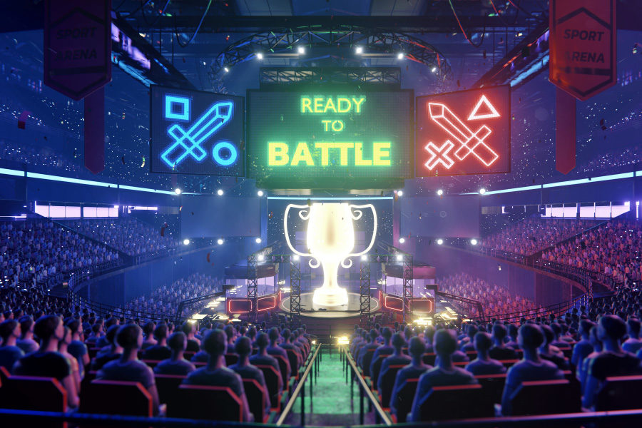 the venue is expected to host at least 300 esports matches every year.