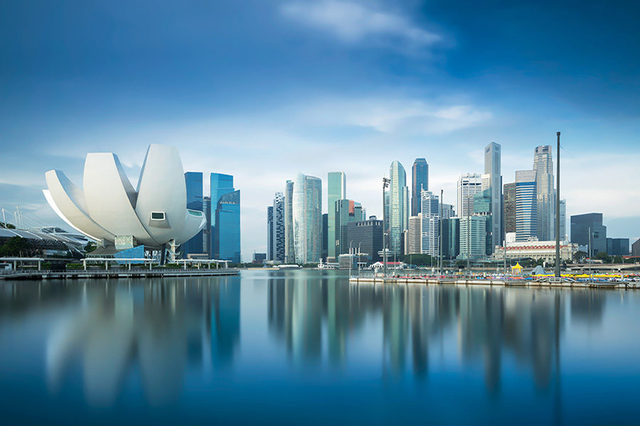 Singapore's casino industry is largely dependant on foreign visitors.