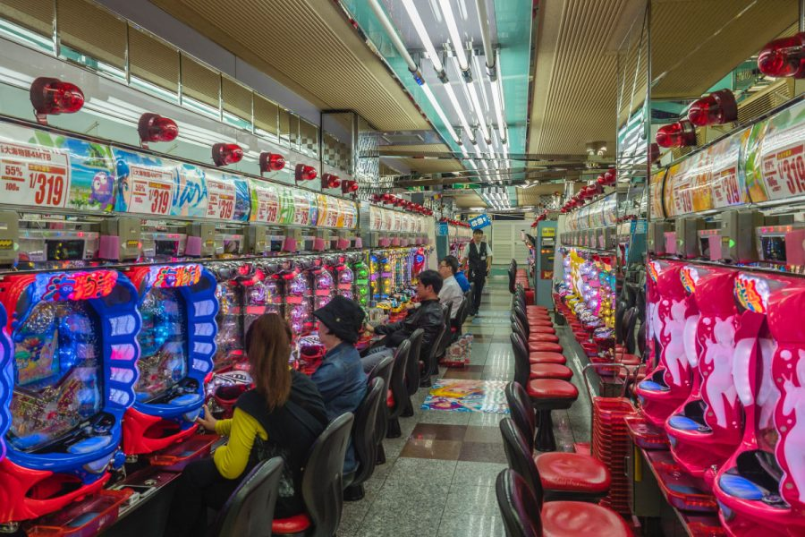 The Pachinko industry has been seriously hit by the Covid-19 pandemic.