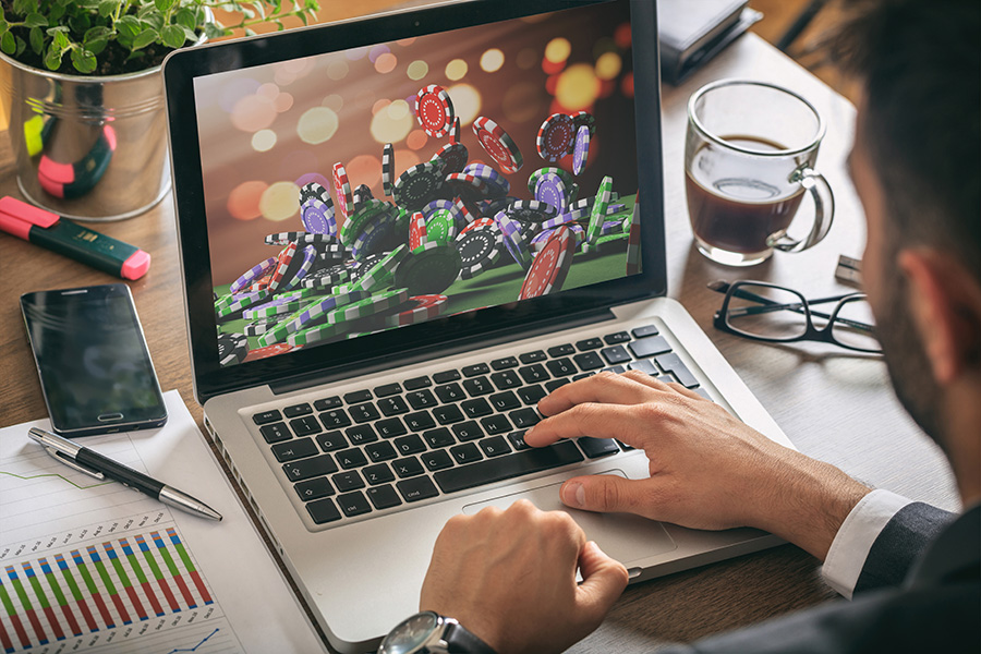 Players have turned to online gambling in huge numbers.