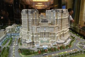 Grand Lisboa Palace will open one of its hotel towers on July 30.