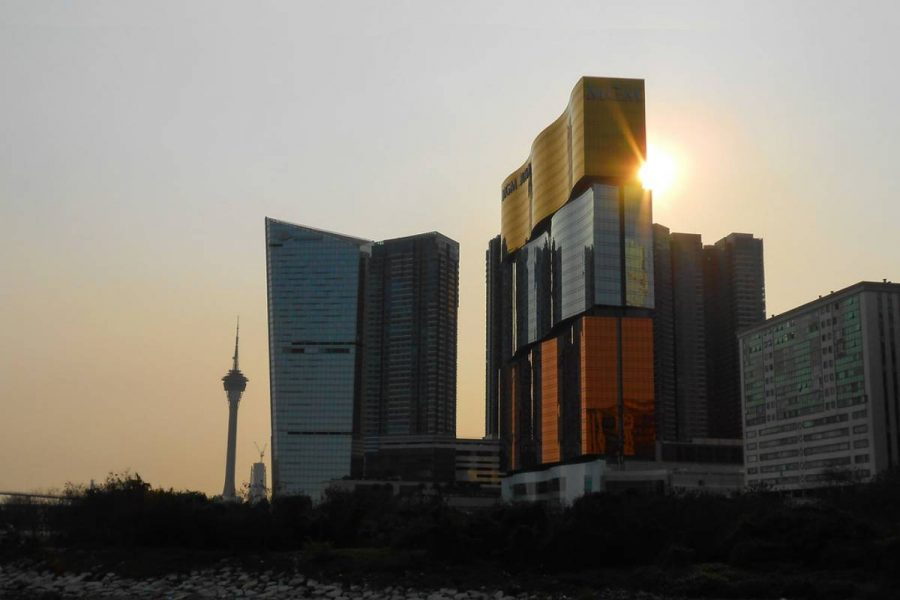 MGM China's revenue was up 8.8% in the first quarter of the year.