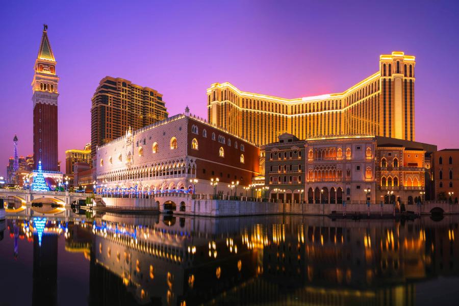 Macau tourism continues to improve.