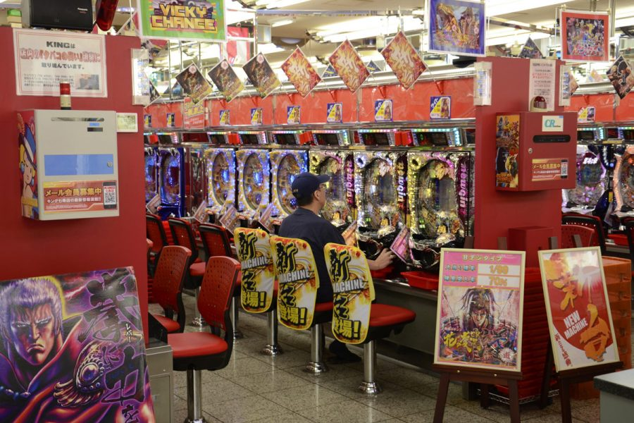 Pachinko parlours are facing a crisis due to the Covid-19 pandemic.
