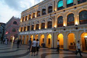 Macau saw 794,819 visitors in April.