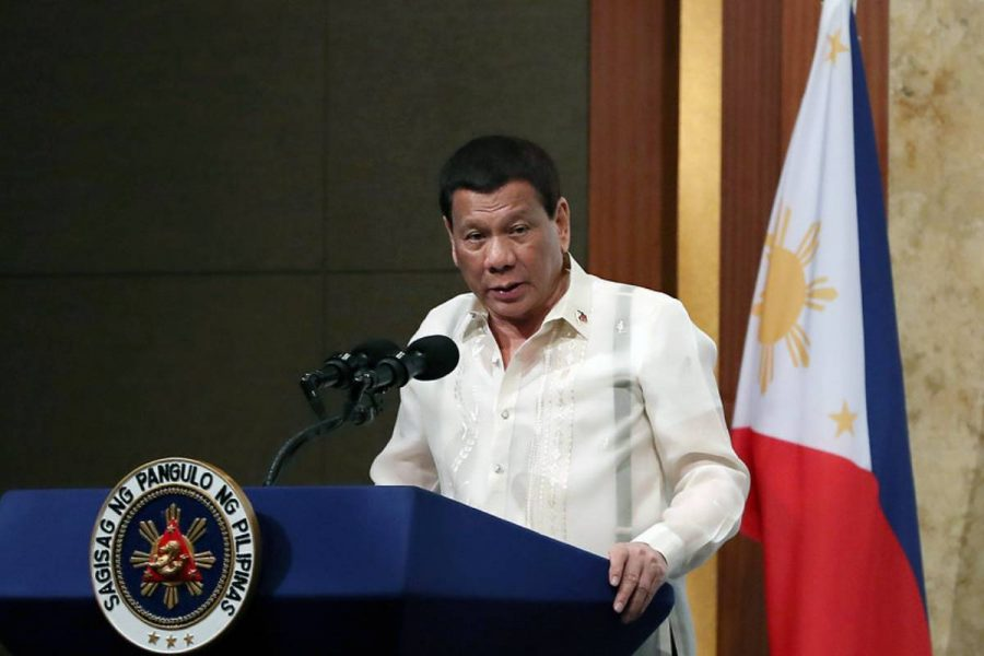 The Philippines president has proposed allowing gambling on Boracay.