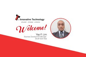 Yap is based in Malaysia and will be responsible for sales activities in the growing SE Asia region.