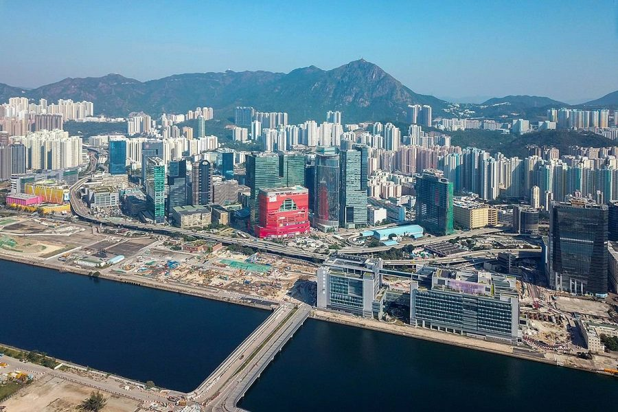 Police in Hong Kong have raided venues in Kowloon and the New Territories.