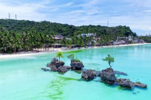 The project for a casino in Boracay was announced in December 2017.