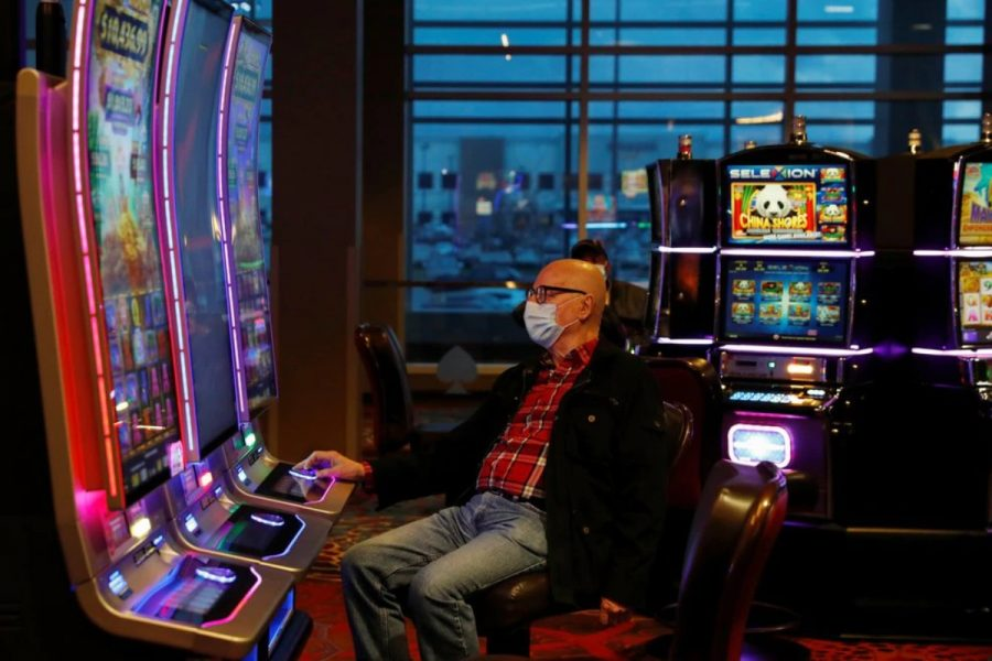 A customer with Covid-19 visited the casino several times.
