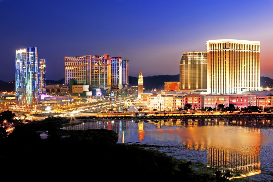 Macau registered 3.93m visitor arrivals in the first half of the year.