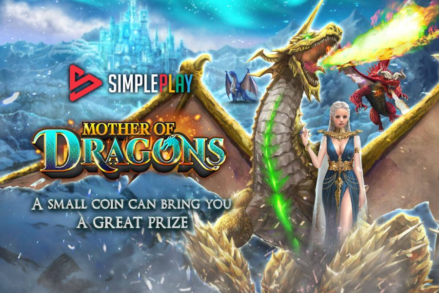 """Mother of Dragons"""" is a 5-reel slot with 324 to 576 ways to win."""