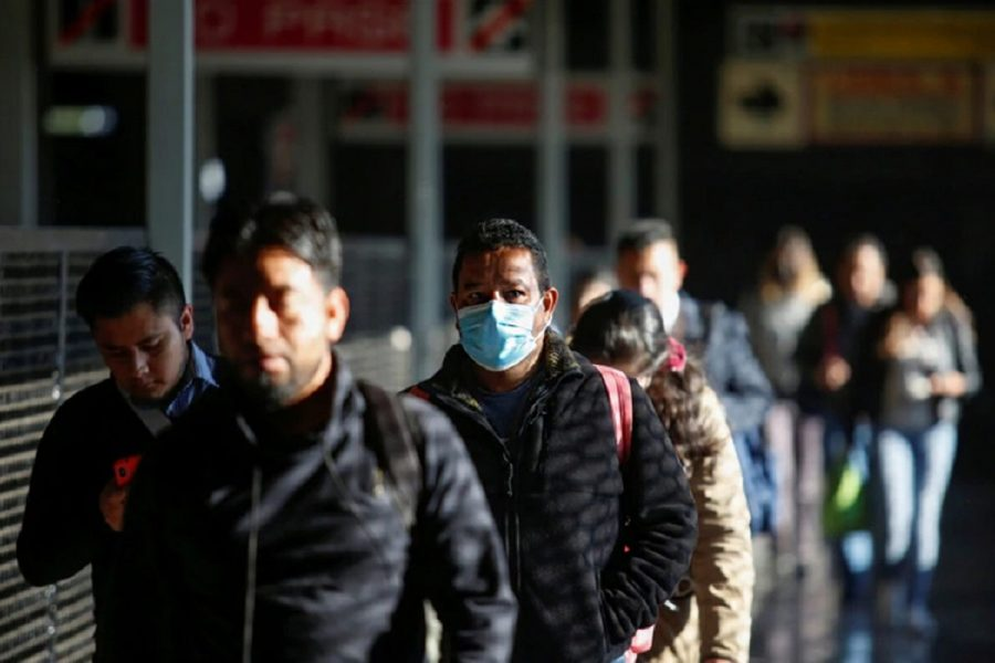 Covid-19 cases have fallen in Guangdong.