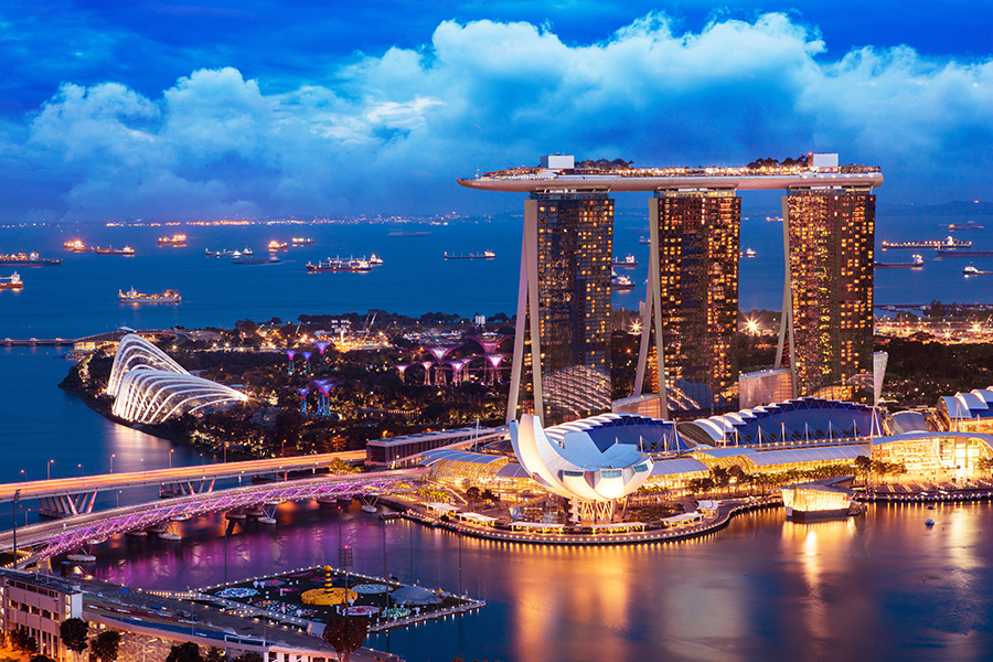 Authorities in Singapore had reintroduced Covid-19 countermeasures.