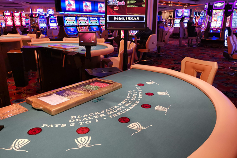 Casinos were ordered to close when the Covid-19 pandemic began.
