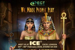 EGT Interactive brillará en ICE London