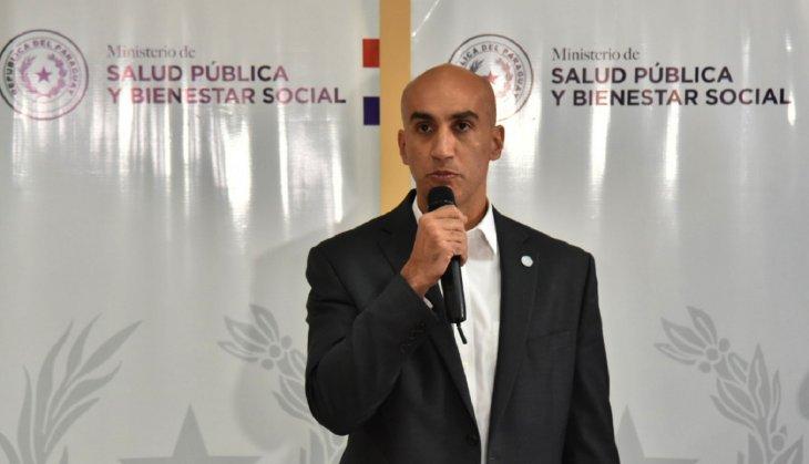 El titular del Ministerio de Salud, Julio Mazzoleni, brindó información sobre el coronavirus.