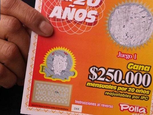 Disputa entre la Polla Chilena de Beneficencia y la Lotería de Concepción por registro de marca.