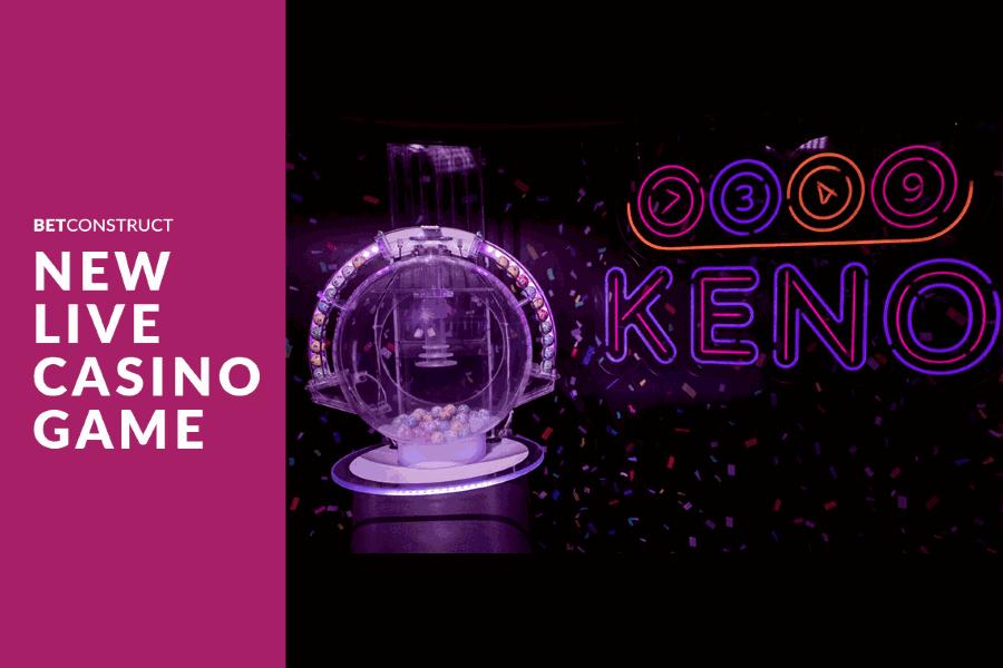 BetConstruct agrega el Keno a su Casino en Vivo.