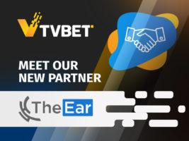 TVBET se asocia con The Ear