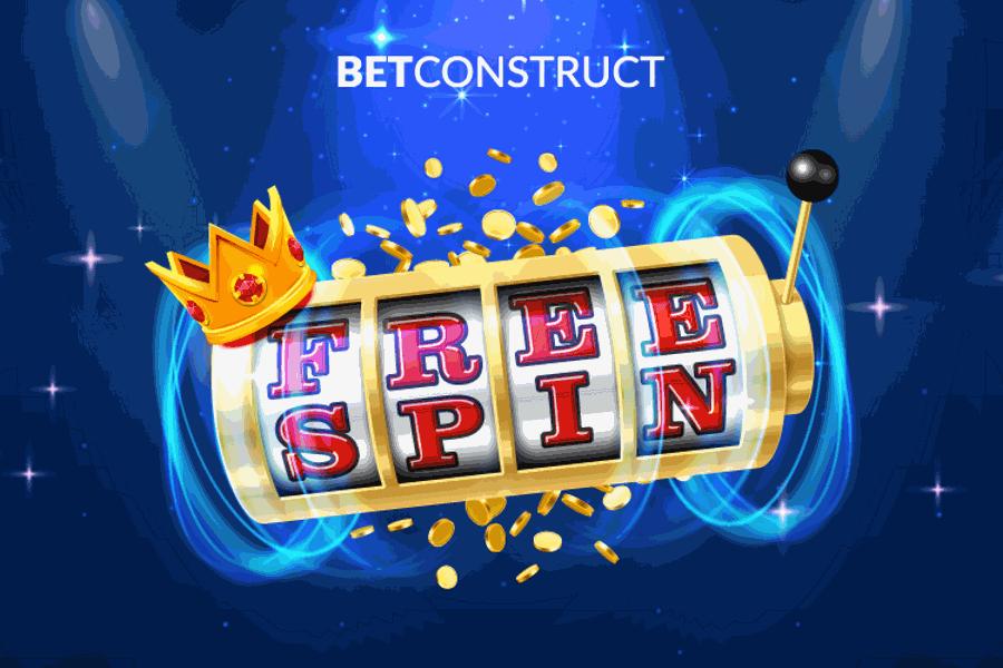 BetConstruct añadió giros gratis a sus jackpots progresivos.